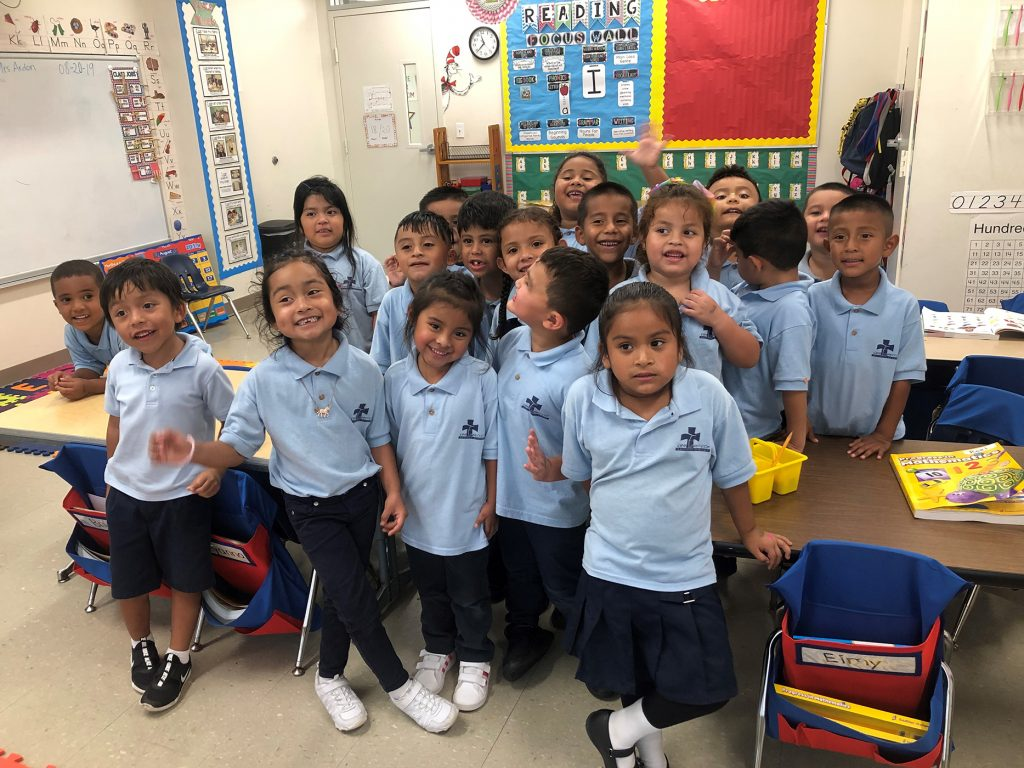 Eager students receive uniforms for 3rd year